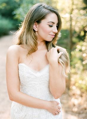 Romantic Wedding Look