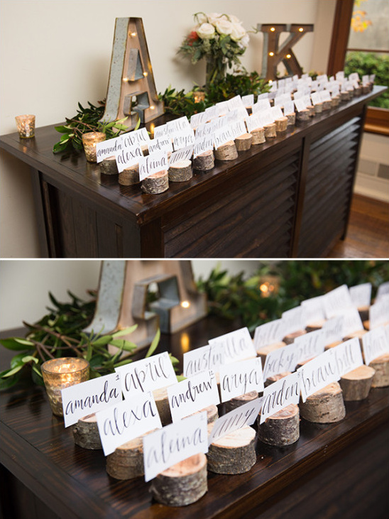 escort card table @weddingchicks