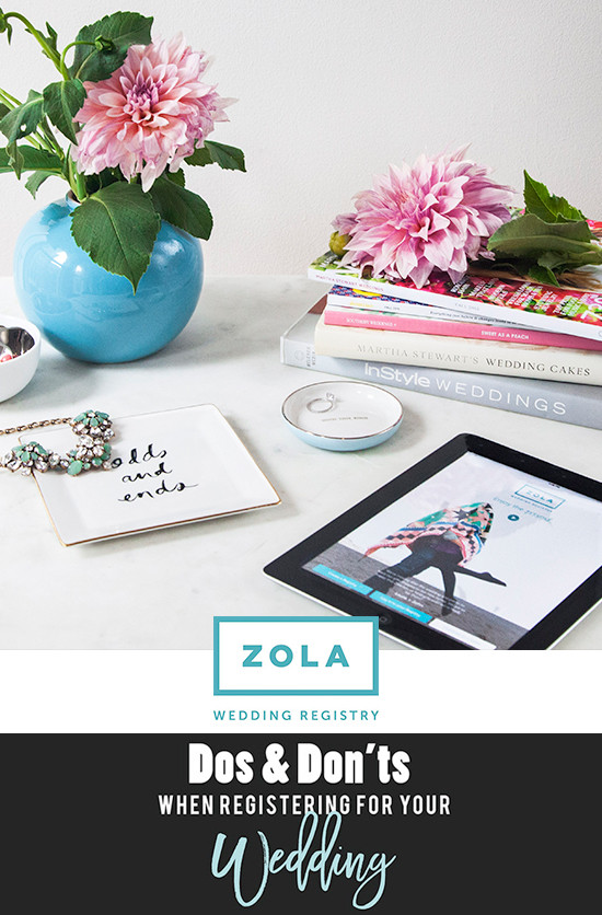 Zola wedding registry @zolaregistry