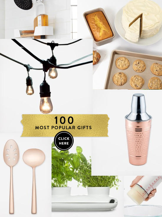 100 most popular wedding registry gifts @zolaregistry