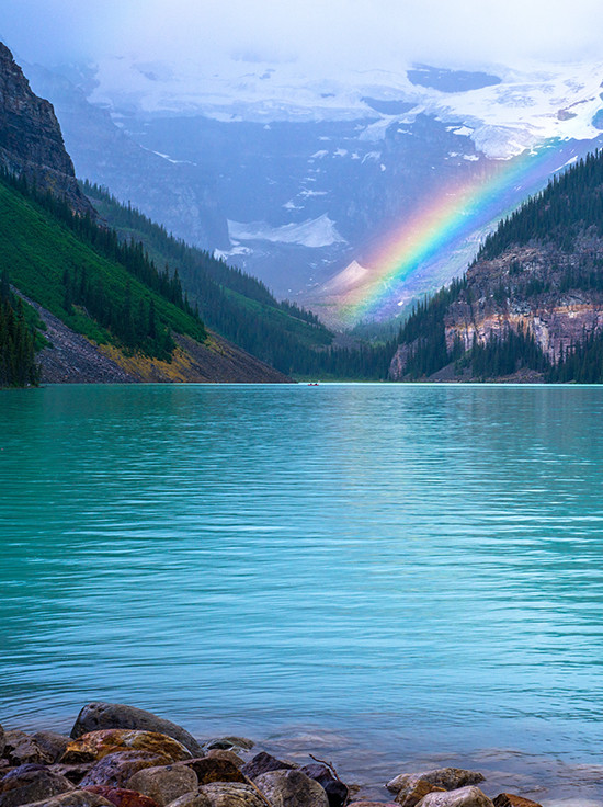 Lake Louise in Canada @zolaregistry