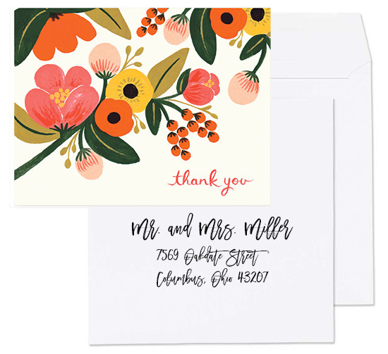 send your thank you notes @zolaregistry