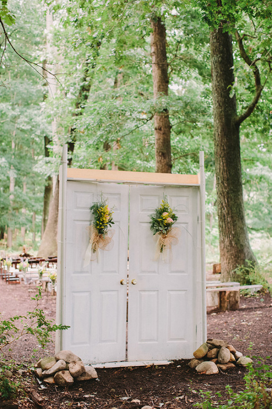 ceremony doors @weddingchicks