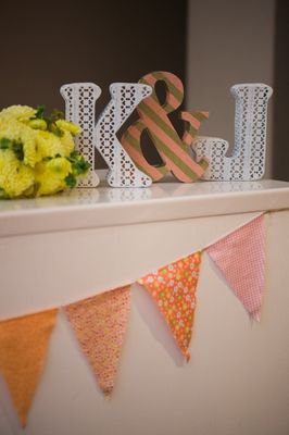 Bicycles and Balloons Wedding in Peach