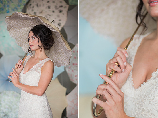 vintage inspired wedding umbrellas from @bellaumbrellas