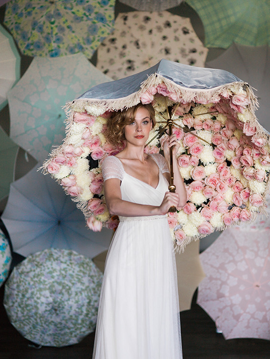 wedding umbrellas from @bellaumbrellas