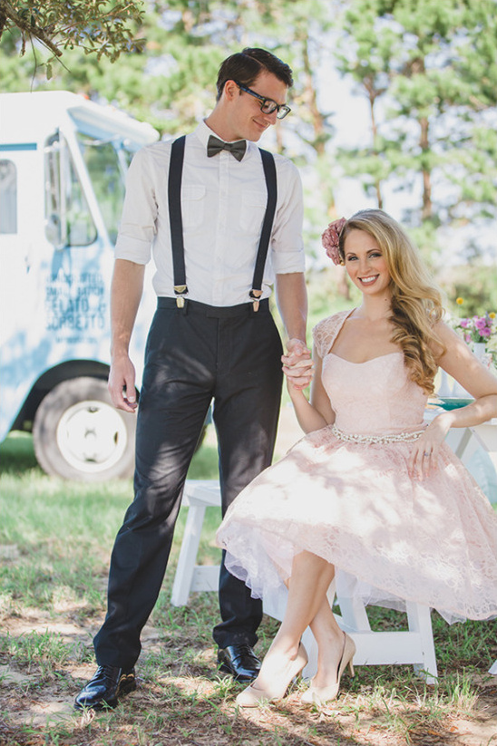 food truck wedding inspiration @weddingchicks