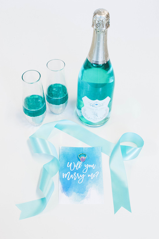Will You Marry Me? With Blanc de Bleu