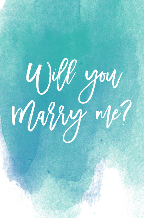 will you marry me free printable @weddingchicks