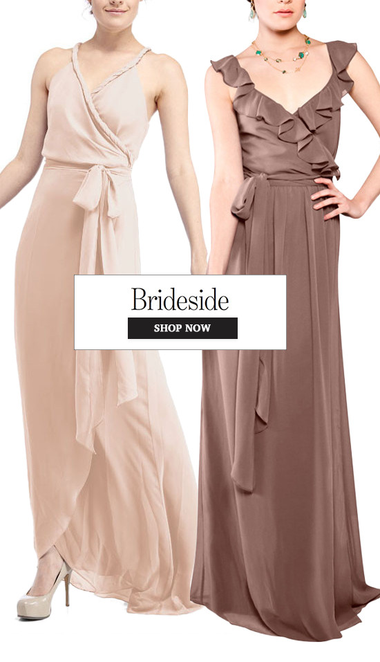 Joanna August bridesmaid dresses from @Brideside