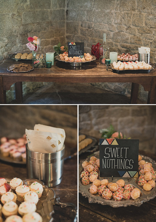 sweets to go table @weddingchicks
