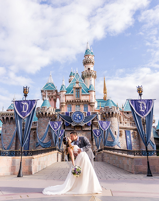 fairy tale wedding with Disney @weddingchicks