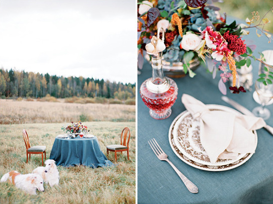 table setting ideas @weddingchicks