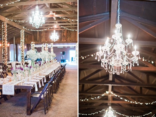 chic barn wedding @weddingchicks