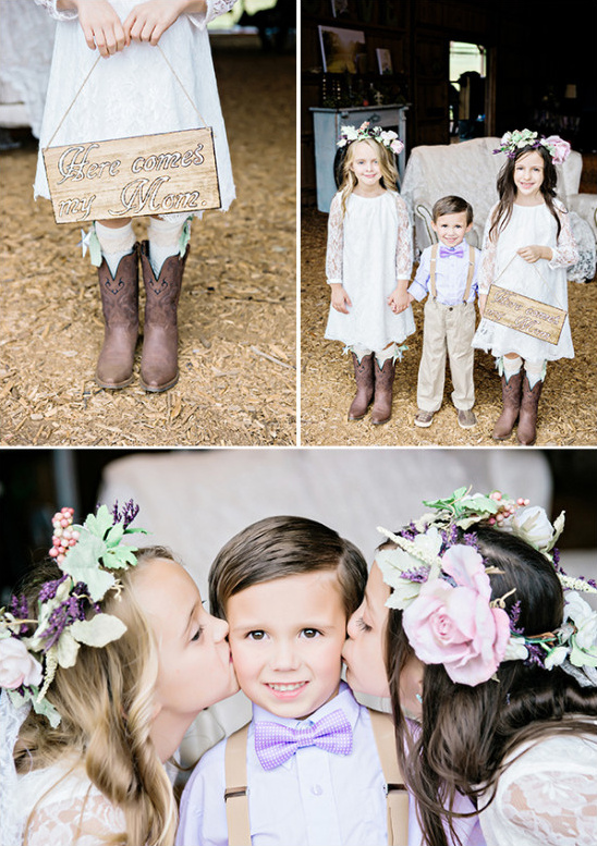adorable flower girls @weddingchicks