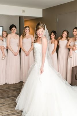 Lovely Pink And Ivory Wedding