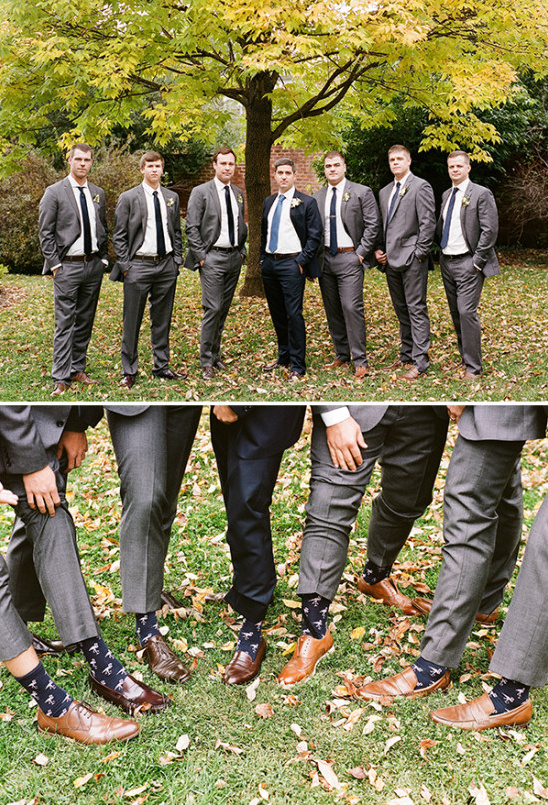 groomsmen flamingo socks @weddingchicks
