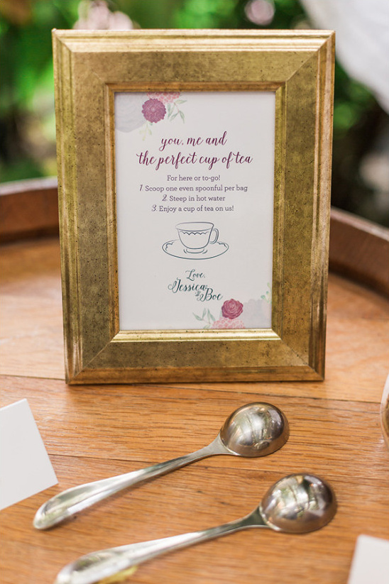 a cup of tea favor @weddingchicks