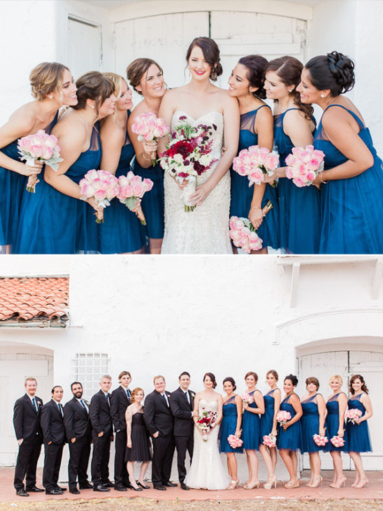 bridal party details @weddingchicks