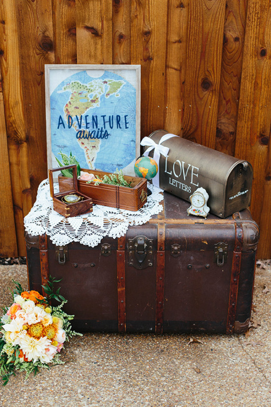 travel and love wedding decor @weddingchicks