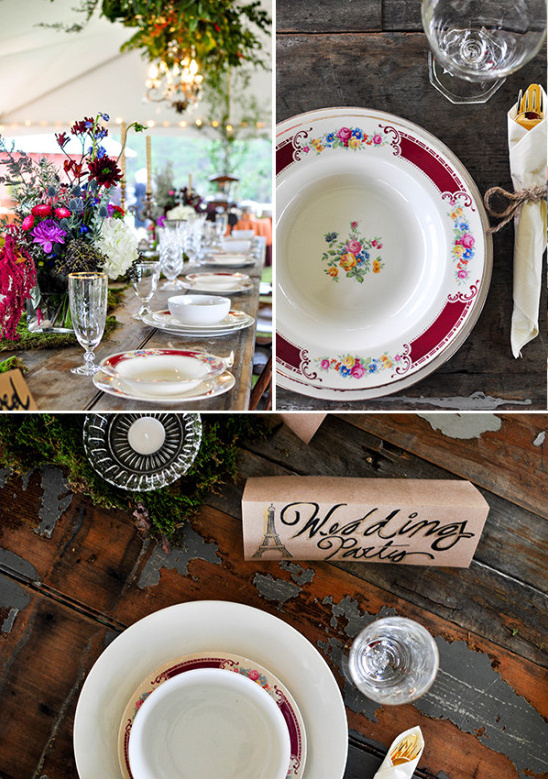 wedding table decor @weddingchicks