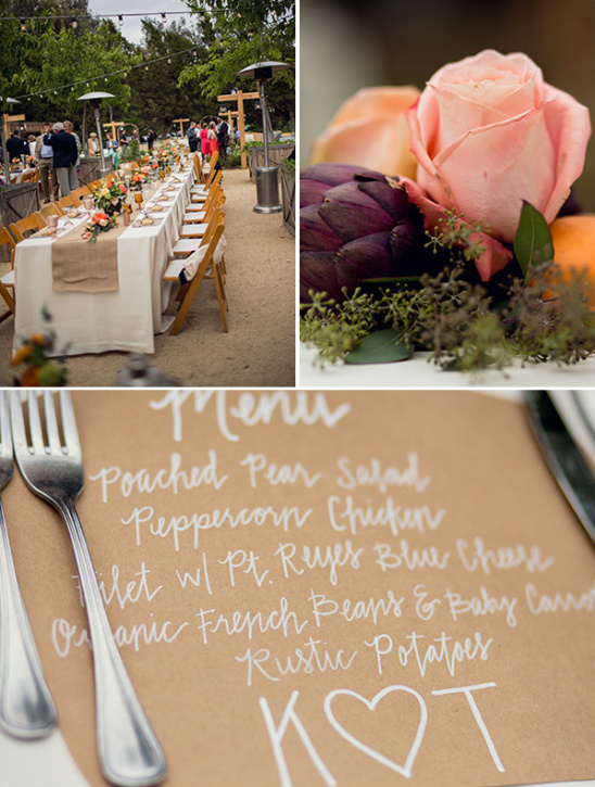 rustic reception @weddingchicks