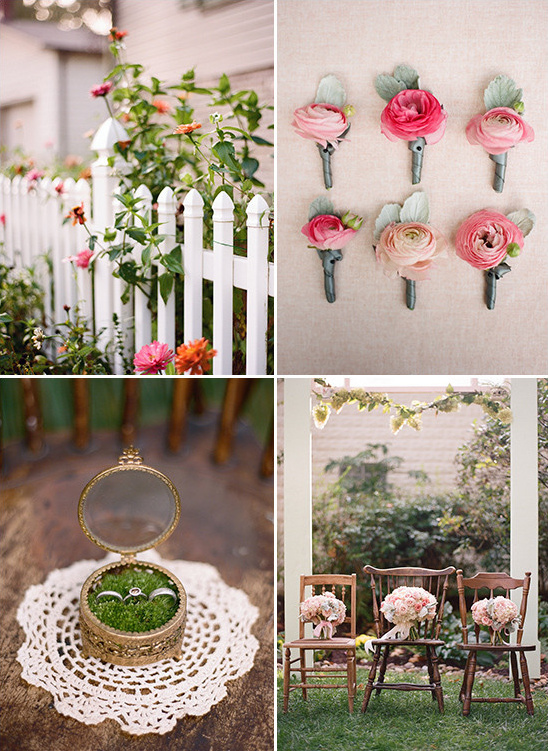 garden wedding details @weddingchicks