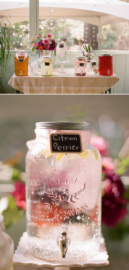drink bar @weddingchicks