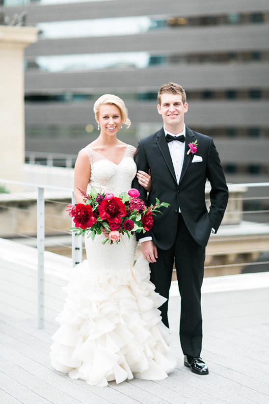 rooftop wedding photography @weddingchicks