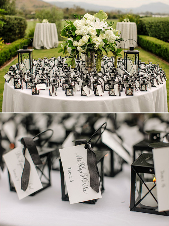 little lantern escort cards @weddingchicks