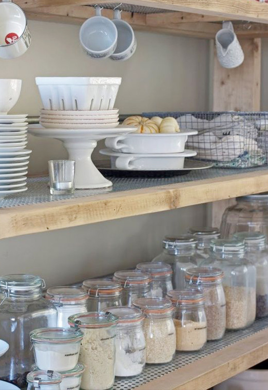 organize your pantry to help you eat cleaner @weddingchicks