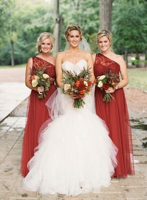 Fall Equestrian Burnt Orange Wedding