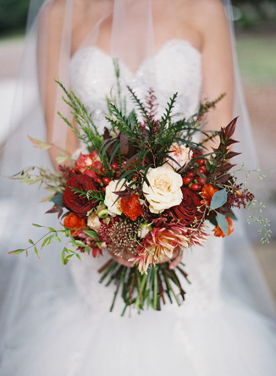 Wedding Bouquet Weddings Burnt Orange Dresses