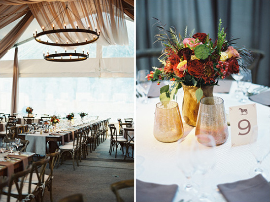 Fall Equestrian Burnt Orange Wedding - BridalPulse