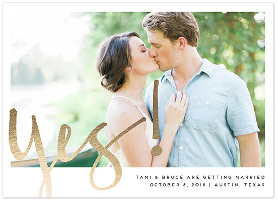 yes! Save The Date From Minted @weddingchicks