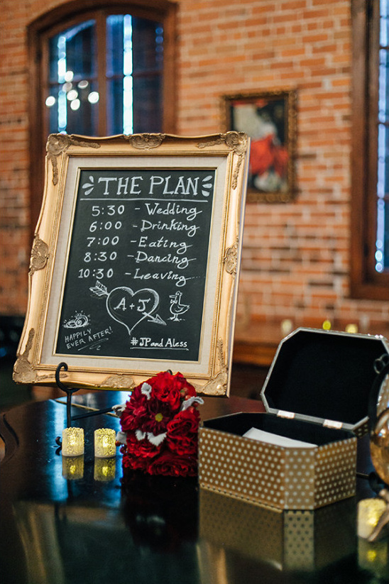 wedding chalk board signs @weddingchicks