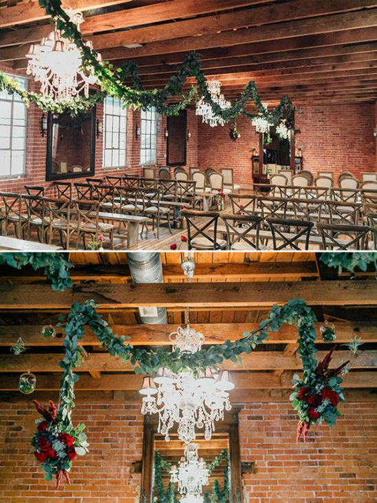 romantic ceremony decor @weddingchicks