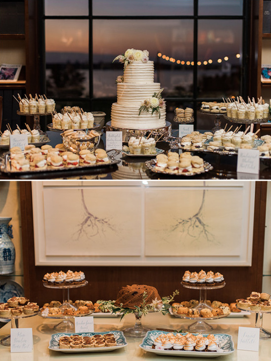 wedding dessert tables @weddingchicks