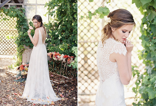 romantic bridal look @weddingchicks