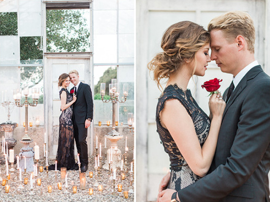 sultry romance wedding ideas @weddingchicks