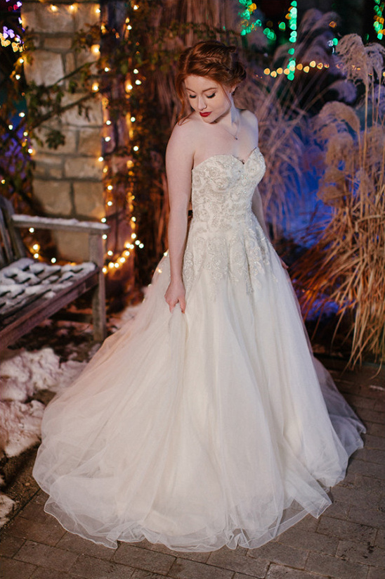 Lillian West wedding dress @weddingchicks