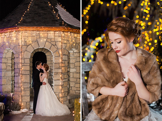 night time wedding photos @weddingchicks