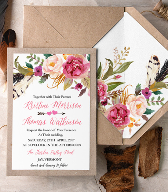 4lovepolkadots wedding invites