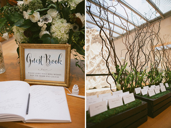 guestbook and escort cards @weddingchicks