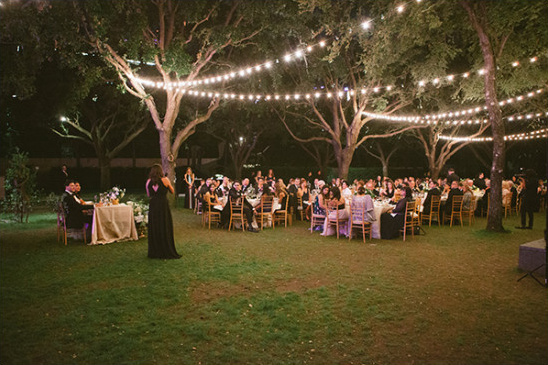outdoor lighting @weddingchicks