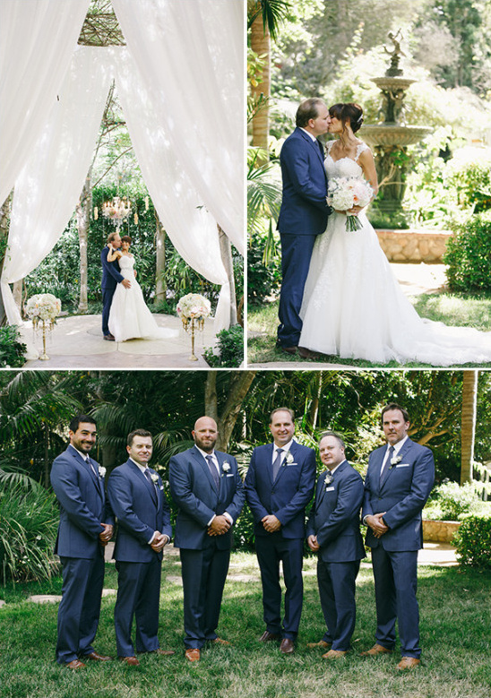 groomsmen in navy @weddingchicks