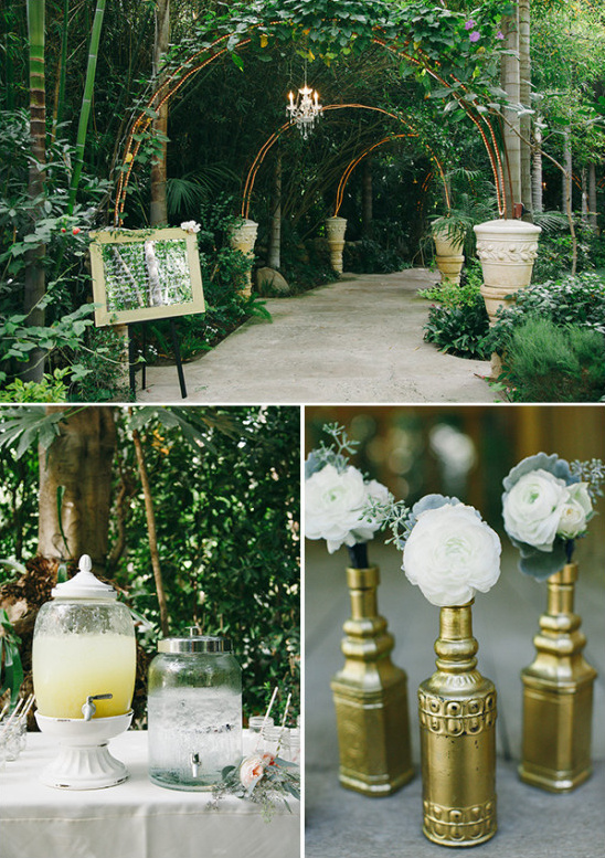 garden decor @weddingchicks
