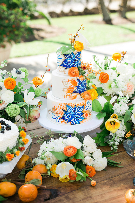 Blog - Charming Blue and Orange Wedding Ideas