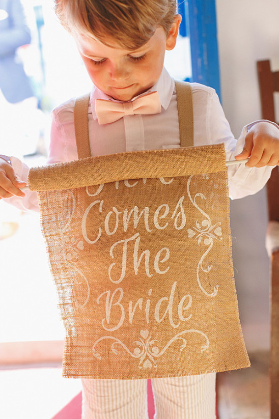 here comes the bride banner @weddingchicks