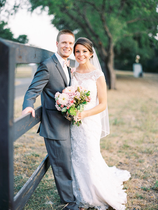 beautiful rustic wedding @weddingchicks